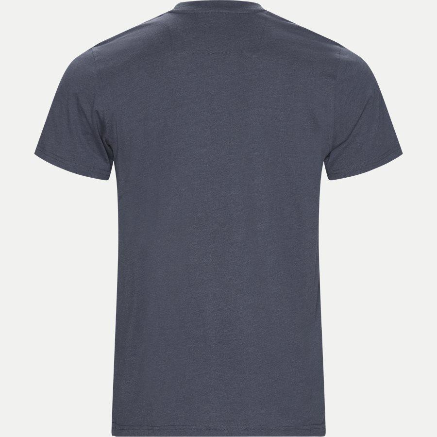 WAINE LOGO - Wayne Tee KM  - T-shirts - Regular - DENIM MELANGE - 2